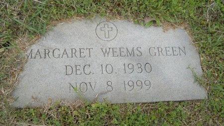 GREEN, MARGARET - Webster County, Louisiana | MARGARET GREEN - Louisiana Gravestone Photos