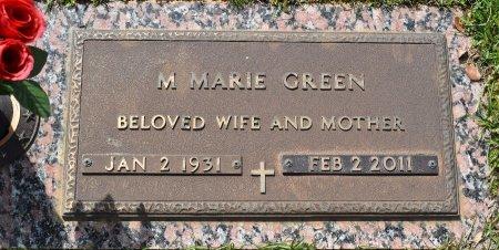 GREEN, M MARIE - Webster County, Louisiana | M MARIE GREEN - Louisiana Gravestone Photos