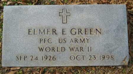 GREEN, ELMER E (VETERAN - Webster County, Louisiana | ELMER E (VETERAN GREEN - Louisiana Gravestone Photos