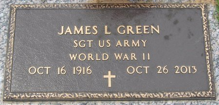 GREEN, JAMES L (VETERAN WWII) - Webster County, Louisiana   JAMES L (VETERAN WWII) GREEN - Louisiana Gravestone Photos
