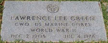 GREEN, LAWRENCE LEE (VETERAN WWII) - Webster County, Louisiana   LAWRENCE LEE (VETERAN WWII) GREEN - Louisiana Gravestone Photos
