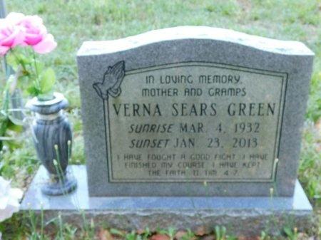 GREEN, VERNA - Webster County, Louisiana | VERNA GREEN - Louisiana Gravestone Photos