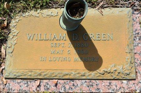 GREEN, WILLIAM D - Webster County, Louisiana   WILLIAM D GREEN - Louisiana Gravestone Photos