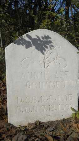 GRIMMET, ANNIE LEE - Webster County, Louisiana | ANNIE LEE GRIMMET - Louisiana Gravestone Photos