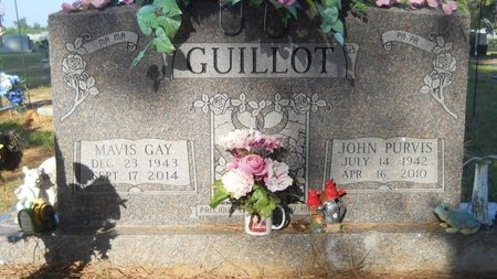 GUILLOT, MAVIS GAY (OBIT) - Webster County, Louisiana | MAVIS GAY (OBIT) GUILLOT - Louisiana Gravestone Photos