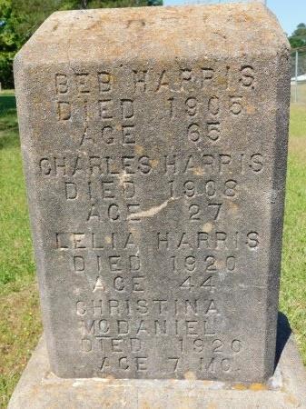 HARRIS, BEB - Webster County, Louisiana | BEB HARRIS - Louisiana Gravestone Photos