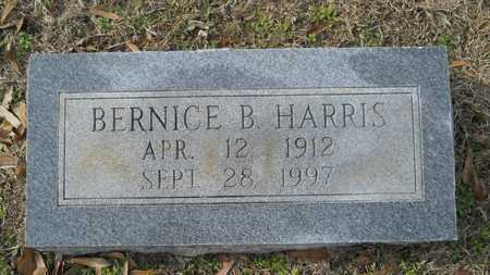 HARRIS, BERNICE B - Webster County, Louisiana   BERNICE B HARRIS - Louisiana Gravestone Photos