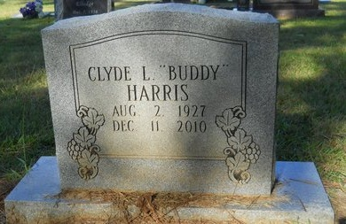 """HARRIS, CLYDE L """"BUDDY"""" - Webster County, Louisiana 
