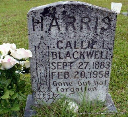 HARRIS, CALLIE LORENSIE - Webster County, Louisiana   CALLIE LORENSIE HARRIS - Louisiana Gravestone Photos