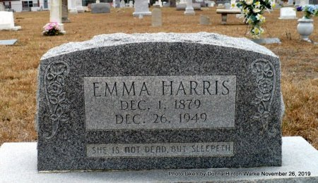 HARRIS, EMMA FLORENCE - Webster County, Louisiana | EMMA FLORENCE HARRIS - Louisiana Gravestone Photos