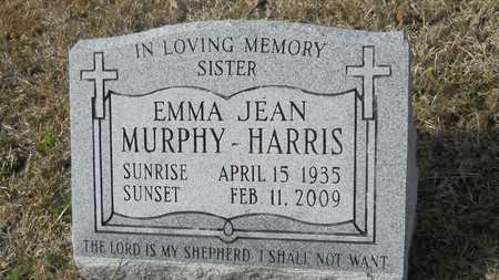 MURPHY HARRIS, EMMA JEAN - Webster County, Louisiana | EMMA JEAN MURPHY HARRIS - Louisiana Gravestone Photos