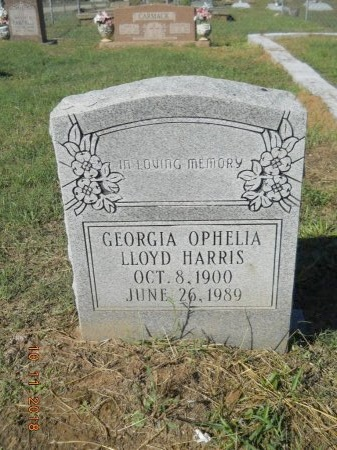 HARRIS, GEORGIA OPHELIA - Webster County, Louisiana | GEORGIA OPHELIA HARRIS - Louisiana Gravestone Photos