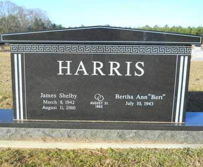 HARRIS, JAMES SHELBY - Webster County, Louisiana | JAMES SHELBY HARRIS - Louisiana Gravestone Photos