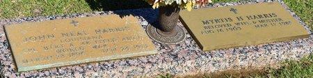 HARRIS, JOHN NEAL - Webster County, Louisiana | JOHN NEAL HARRIS - Louisiana Gravestone Photos