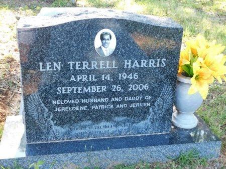 HARRIS, LEN TERRELL - Webster County, Louisiana | LEN TERRELL HARRIS - Louisiana Gravestone Photos