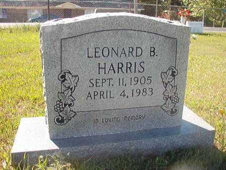 HARRIS, LEONARD B - Webster County, Louisiana | LEONARD B HARRIS - Louisiana Gravestone Photos