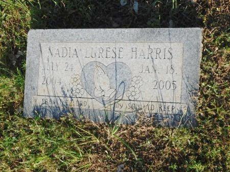 HARRIS, NADIA LURESE - Webster County, Louisiana | NADIA LURESE HARRIS - Louisiana Gravestone Photos