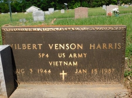 HARRIS, WILBERT VENSON (VETERAN VIET) - Webster County, Louisiana   WILBERT VENSON (VETERAN VIET) HARRIS - Louisiana Gravestone Photos