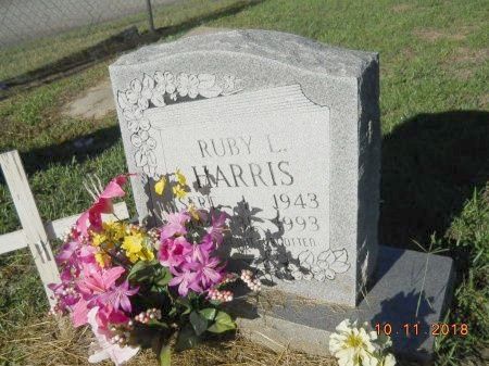 HARRIS, RUBY L - Webster County, Louisiana   RUBY L HARRIS - Louisiana Gravestone Photos