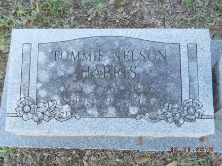 HARRIS, TOMMIE NELSON - Webster County, Louisiana   TOMMIE NELSON HARRIS - Louisiana Gravestone Photos