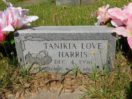 HARRIS, TANIKIA LOVE - Webster County, Louisiana | TANIKIA LOVE HARRIS - Louisiana Gravestone Photos