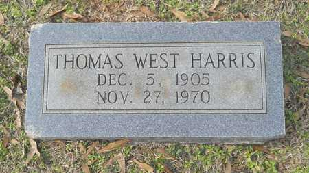 HARRIS, THOMAS WEST - Webster County, Louisiana   THOMAS WEST HARRIS - Louisiana Gravestone Photos