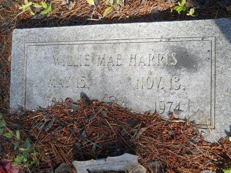 HARRIS, WILLIE MAE - Webster County, Louisiana | WILLIE MAE HARRIS - Louisiana Gravestone Photos