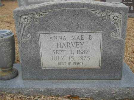 HARVEY, ANNA MAE (CLOSE UP) - Webster County, Louisiana | ANNA MAE (CLOSE UP) HARVEY - Louisiana Gravestone Photos