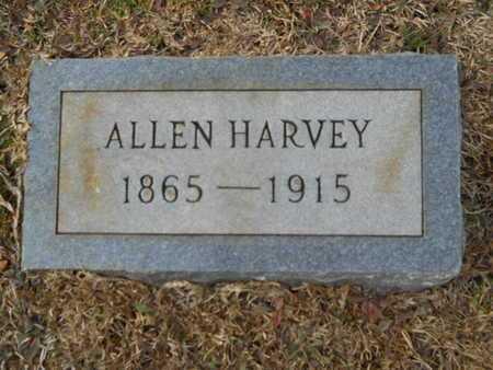 HARVEY, ALLEN - Webster County, Louisiana   ALLEN HARVEY - Louisiana Gravestone Photos