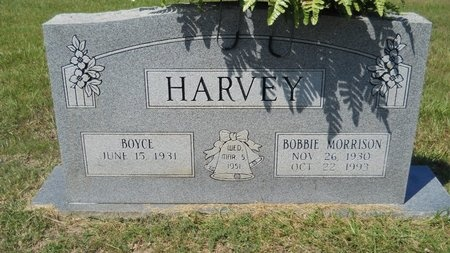 HARVEY, BOBBIE - Webster County, Louisiana | BOBBIE HARVEY - Louisiana Gravestone Photos