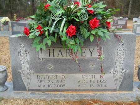 HARVEY, DELBERT DEWITTE - Webster County, Louisiana | DELBERT DEWITTE HARVEY - Louisiana Gravestone Photos