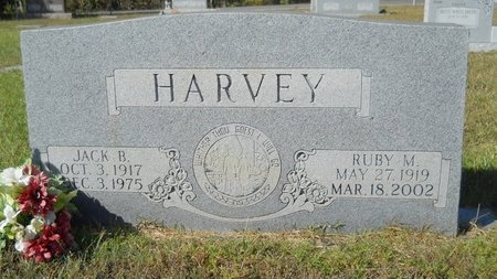 HARVEY, RUBY M - Webster County, Louisiana | RUBY M HARVEY - Louisiana Gravestone Photos