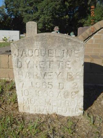 HARVEY, JACQUELINE DYNETTE - Webster County, Louisiana   JACQUELINE DYNETTE HARVEY - Louisiana Gravestone Photos