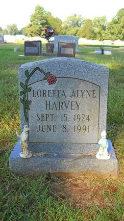 HARVEY, LORETTA ALYNE - Webster County, Louisiana | LORETTA ALYNE HARVEY - Louisiana Gravestone Photos
