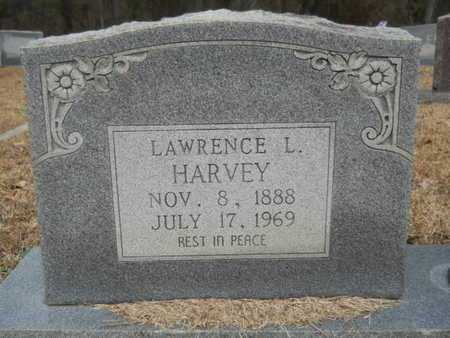 HARVEY, LAWRENCE LITTLETON (CLOSE UP) - Webster County, Louisiana | LAWRENCE LITTLETON (CLOSE UP) HARVEY - Louisiana Gravestone Photos