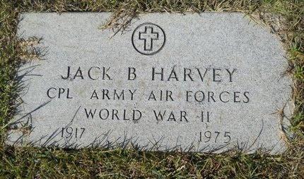 HARVEY, JACK B (VETERAN WWII) - Webster County, Louisiana | JACK B (VETERAN WWII) HARVEY - Louisiana Gravestone Photos