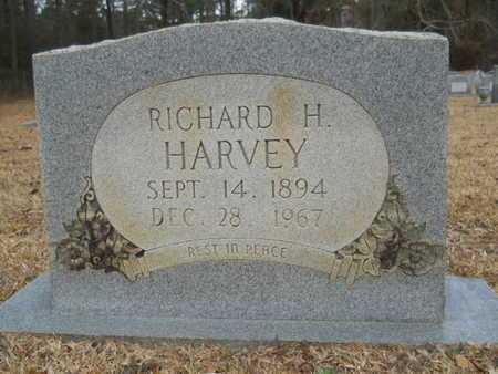 HARVEY, RICHARD H - Webster County, Louisiana | RICHARD H HARVEY - Louisiana Gravestone Photos