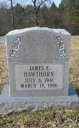 HAWTHORN, JAMES E - Webster County, Louisiana | JAMES E HAWTHORN - Louisiana Gravestone Photos