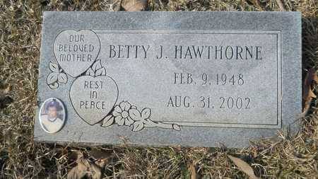 HAWTHORNE, BETTY J - Webster County, Louisiana | BETTY J HAWTHORNE - Louisiana Gravestone Photos