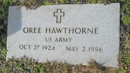 HAWTHORNE, OREE (VETERAN) - Webster County, Louisiana | OREE (VETERAN) HAWTHORNE - Louisiana Gravestone Photos