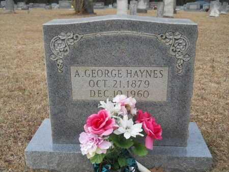 HAYNES, A GEORGE - Webster County, Louisiana | A GEORGE HAYNES - Louisiana Gravestone Photos