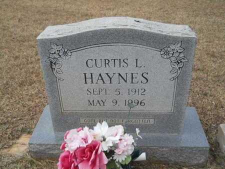 HAYNES, CURTIS L - Webster County, Louisiana   CURTIS L HAYNES - Louisiana Gravestone Photos