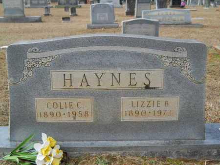 HAYNES, COLIE C - Webster County, Louisiana | COLIE C HAYNES - Louisiana Gravestone Photos