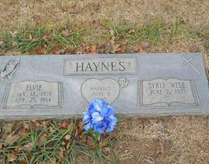 HAYNES, ELVIE - Webster County, Louisiana | ELVIE HAYNES - Louisiana Gravestone Photos