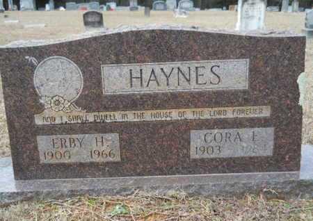 HAYNES, CORA E - Webster County, Louisiana | CORA E HAYNES - Louisiana Gravestone Photos