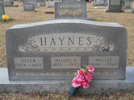 HAYNES, WILLIE - Webster County, Louisiana | WILLIE HAYNES - Louisiana Gravestone Photos