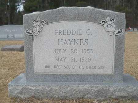 HAYNES, FREDDIE G - Webster County, Louisiana | FREDDIE G HAYNES - Louisiana Gravestone Photos