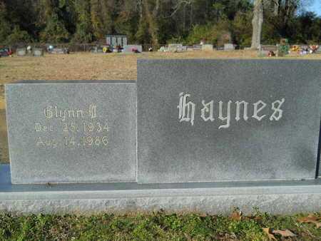 HAYNES, GLYNN D - Webster County, Louisiana | GLYNN D HAYNES - Louisiana Gravestone Photos