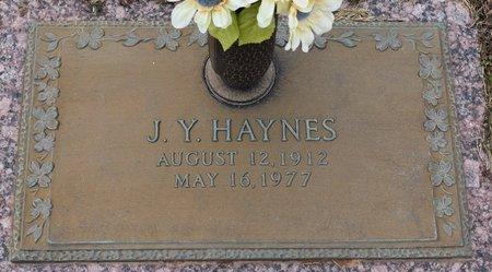 HAYNES, J Y - Webster County, Louisiana | J Y HAYNES - Louisiana Gravestone Photos