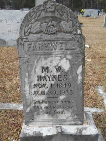 HAYNES, MICHAEL W - Webster County, Louisiana | MICHAEL W HAYNES - Louisiana Gravestone Photos